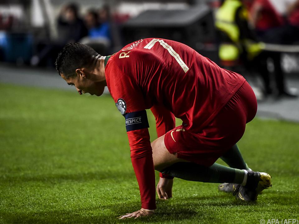 Ronaldo zog sich Blessuren zu