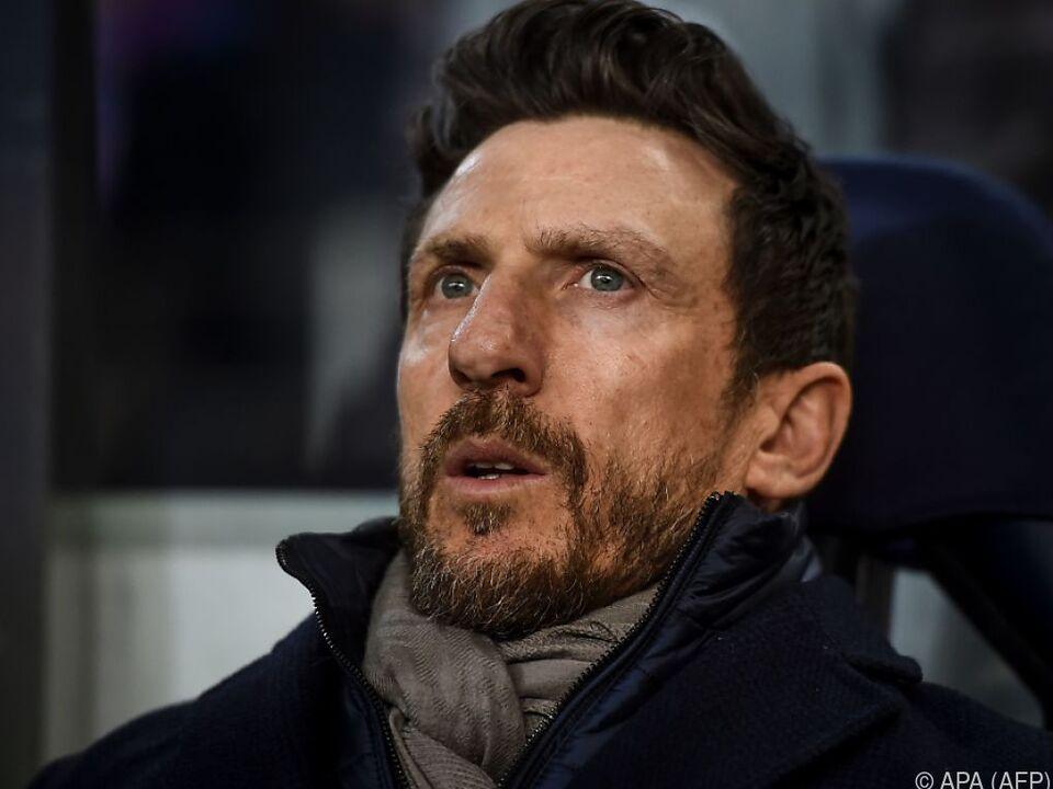 Rückspiel in Porto war Di Francescos letzter Auftritt als Roma-Coach