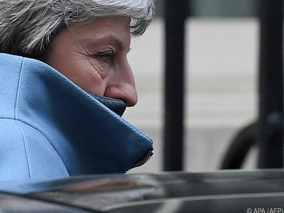 Schwere Stunden für Theresa May