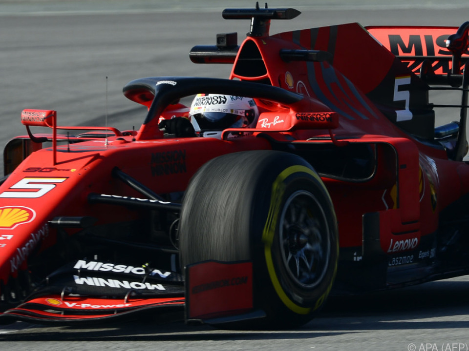 Sebastian Vettel fuhr in Australien zur bisherigen Jahresbestzeit