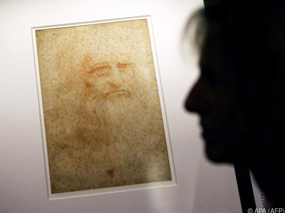 Selbstporträt des Leonardo da Vinci