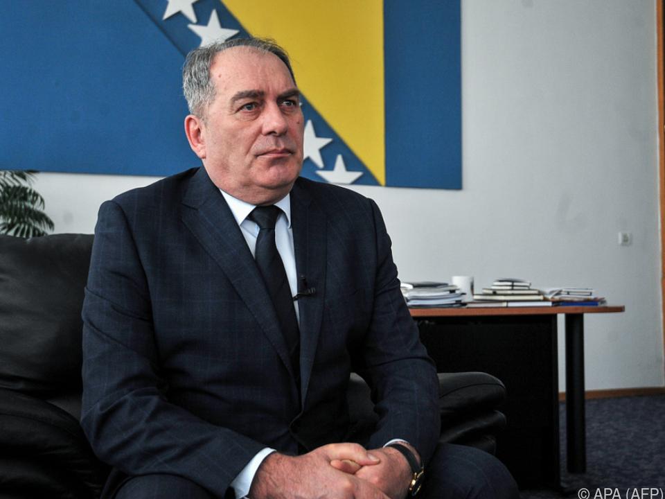 Sicherheitsminister Dragan Mektic