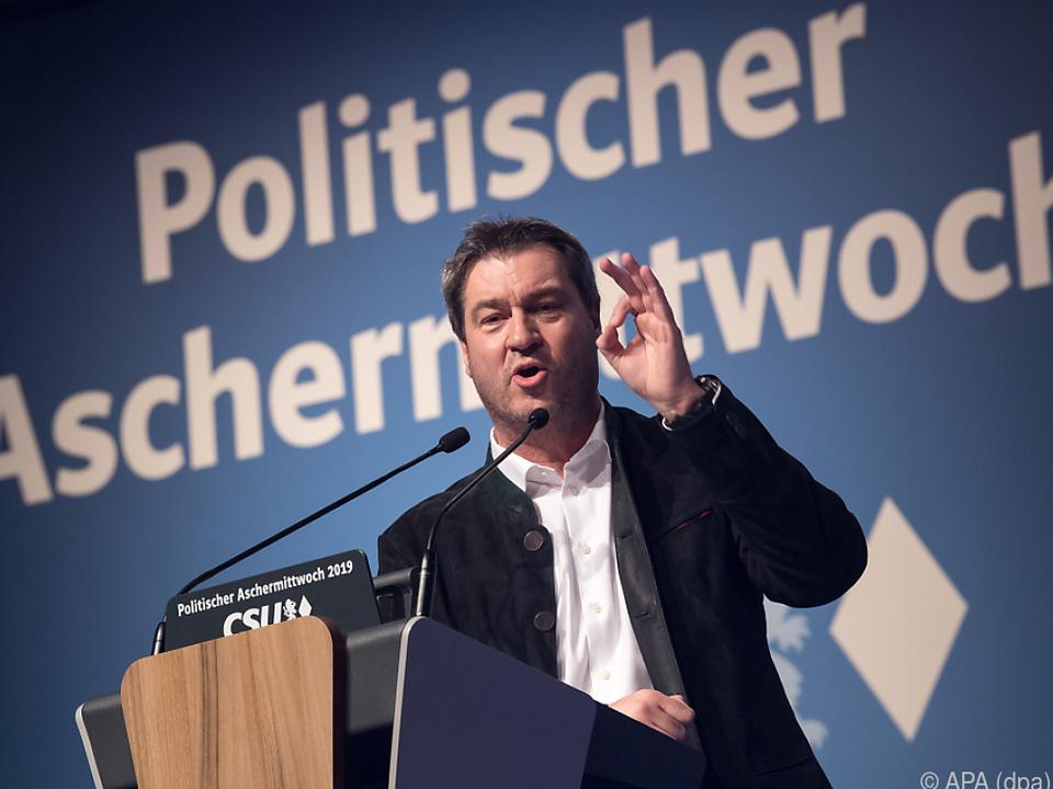 Söder warnt vor einem Ende der europäischen Idee