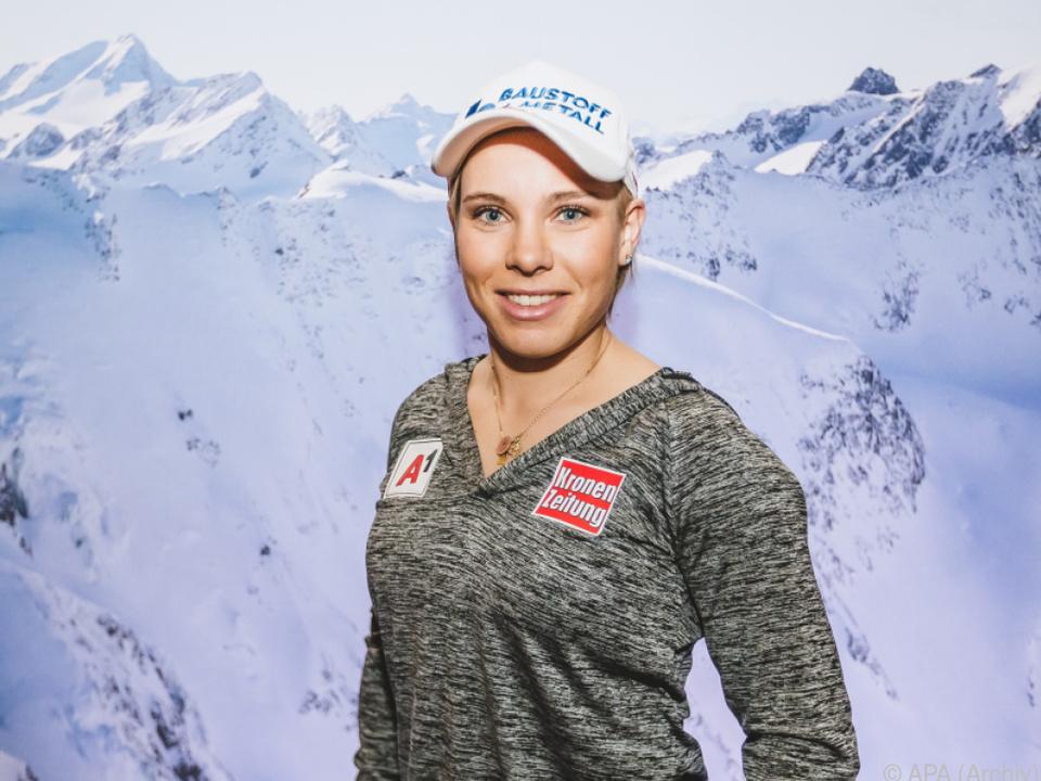 Speedski-Debütantin Schmidhofer knapp an Medaille vorbei