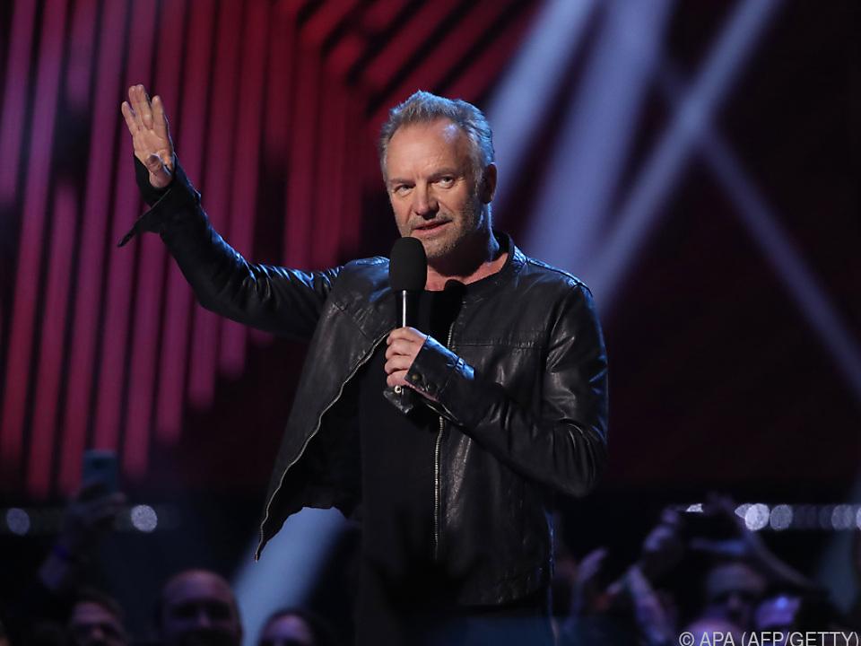 Sting wird zwei Konzerte in Österreich geben