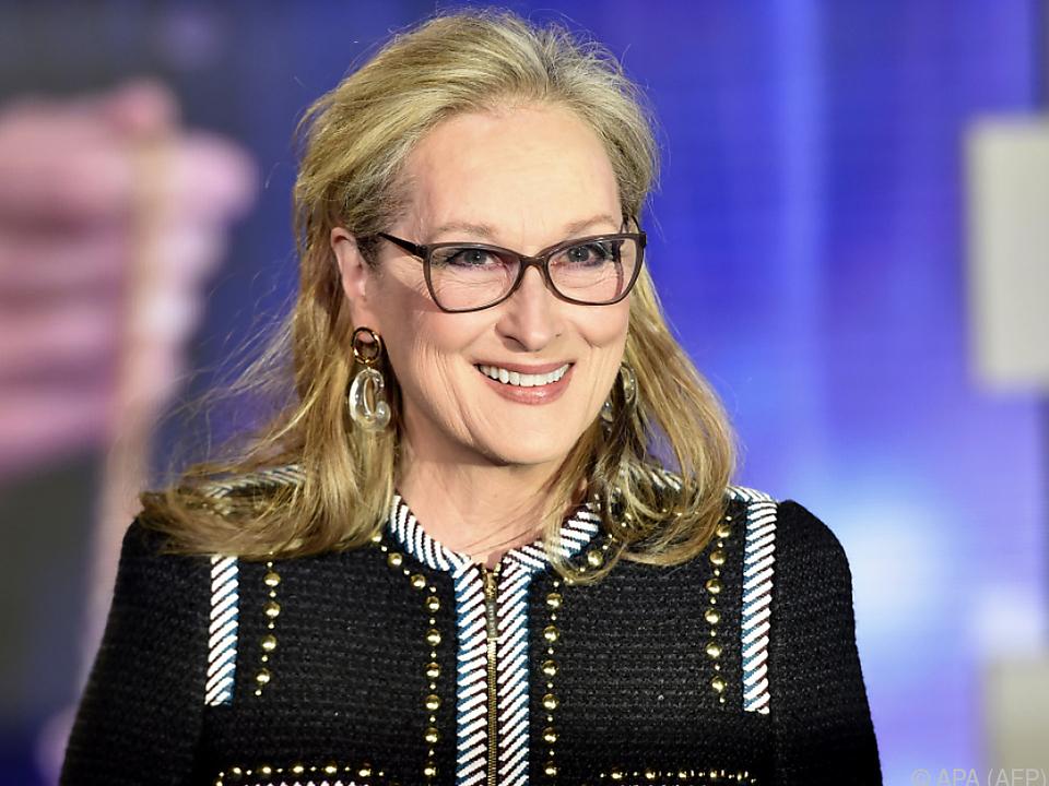 Streep hat ein kleines Enkerl bekommen