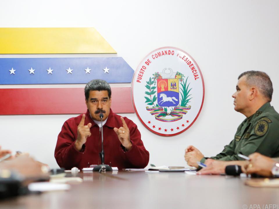 Stromausfälle machen Maduro zu schaffen