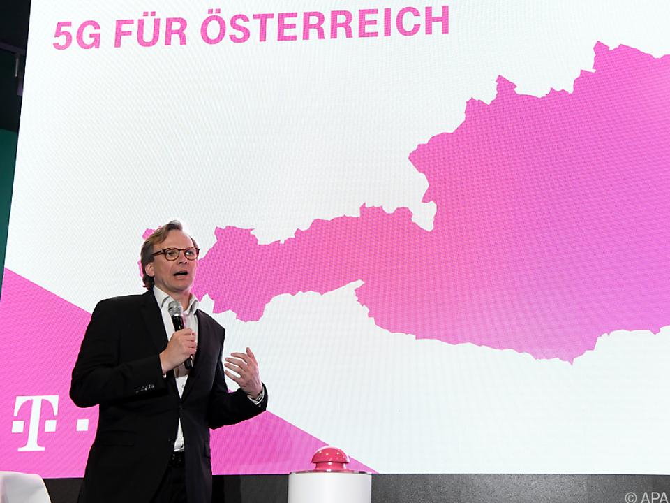 T-Mobile-CEO Bierwirth erfreut sich Unterstützung der Politik