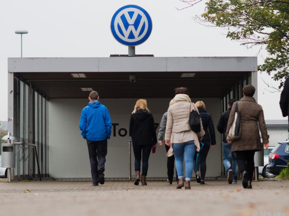 Tausende bei VW-Betriebsversammlung erwartet