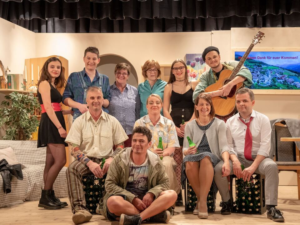 Theatergruppe Verdings 2019 Alte Sünden Rächen sich