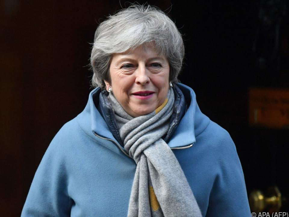 Theresa May muss dringend ein Lösung für den Brexit finden