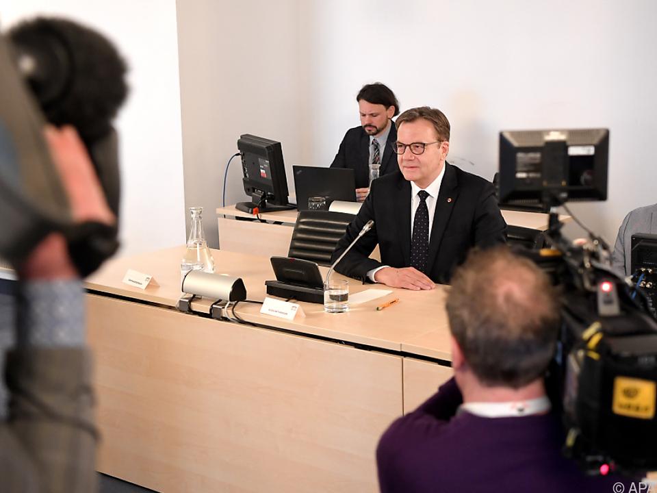 Tiroler Landeshauptmann Platter im BVT-Untersuchungsausschuss