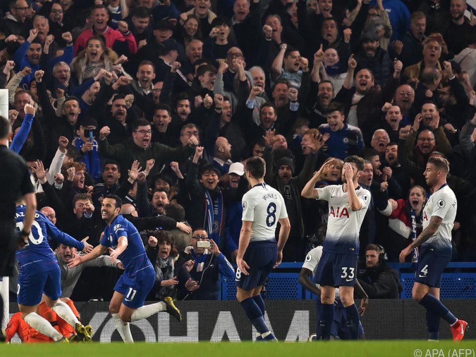 Tottenham kassierte eine 0:2-Niederlage bei Chelsea