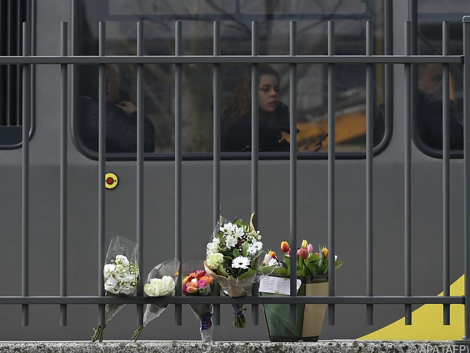 Trauer um die Opfer von Utrecht