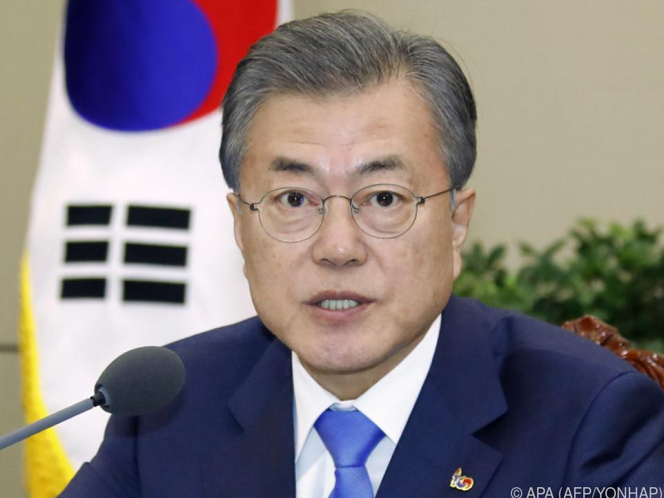 Unter Vorsitz von Moon Jae-in tagte der nationale Sicherheitsrat