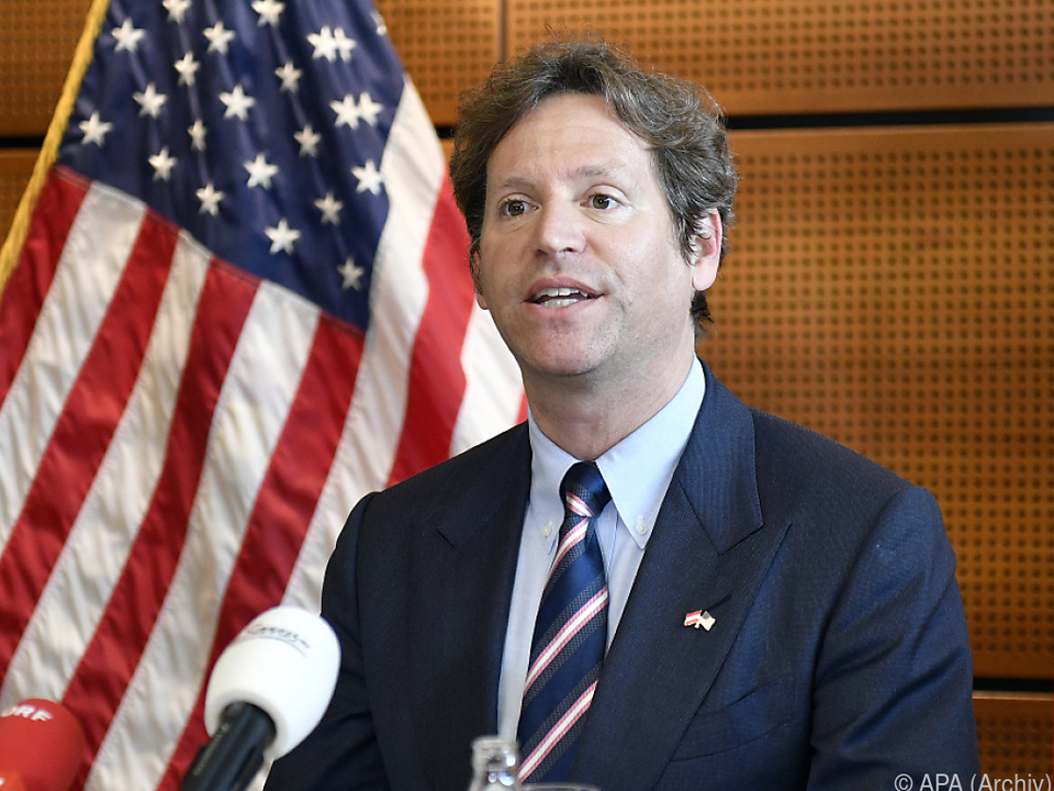US-Botschafter Trevor Traina droht OMV wegen Ostsee-Pipeline