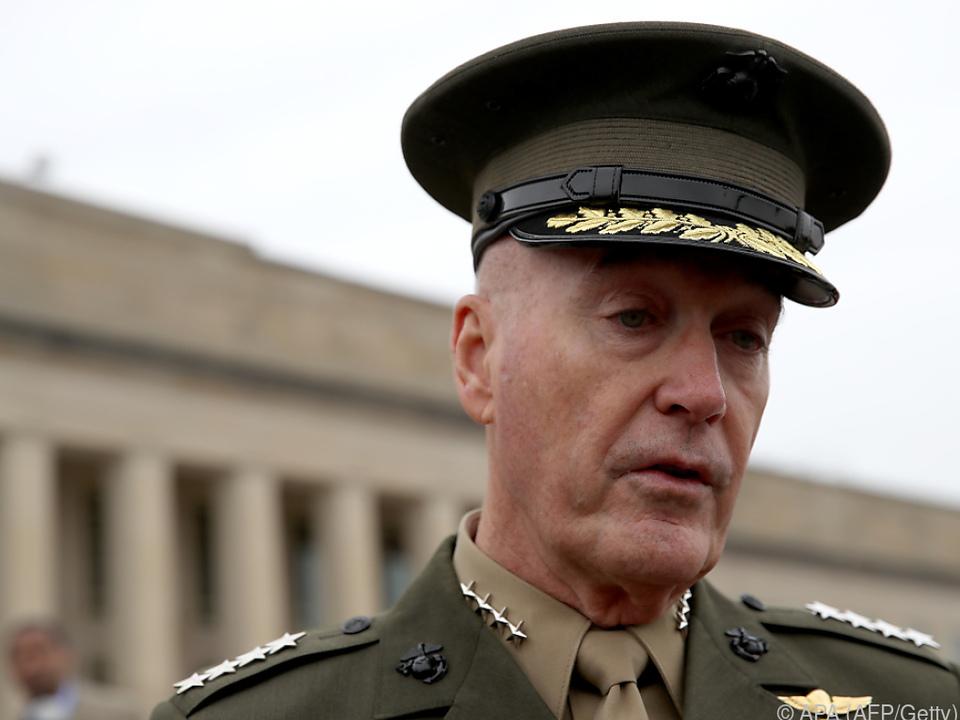US-General Joseph Dunford