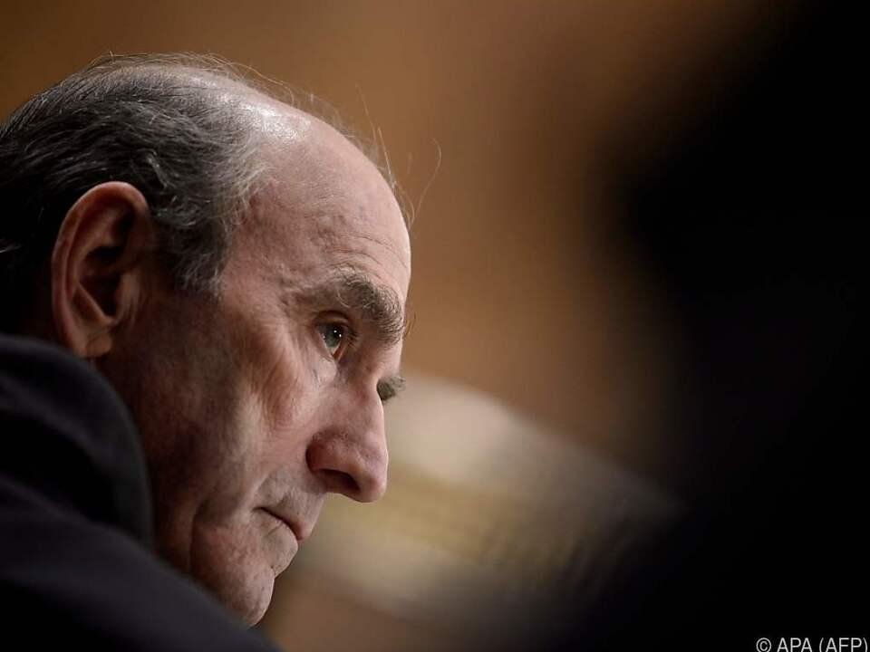 US-Sonderbeauftragter Elliott Abrams sprach im Senat