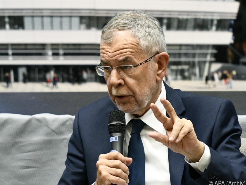 Van der Bellen wirbt für mehr Klimaambition