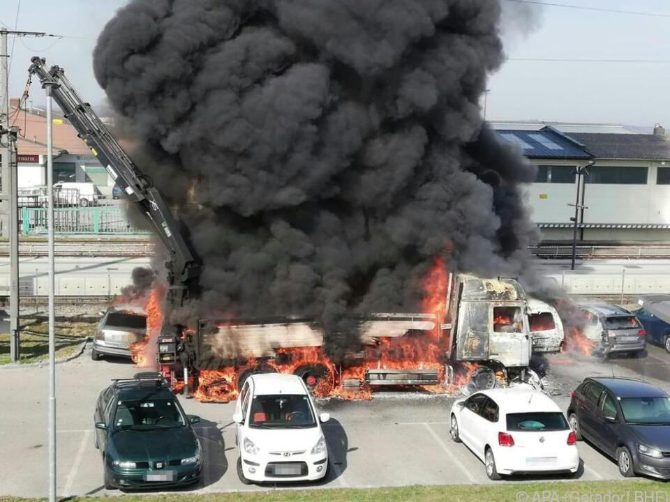 Verletzt wurde bei dem Brand niemand