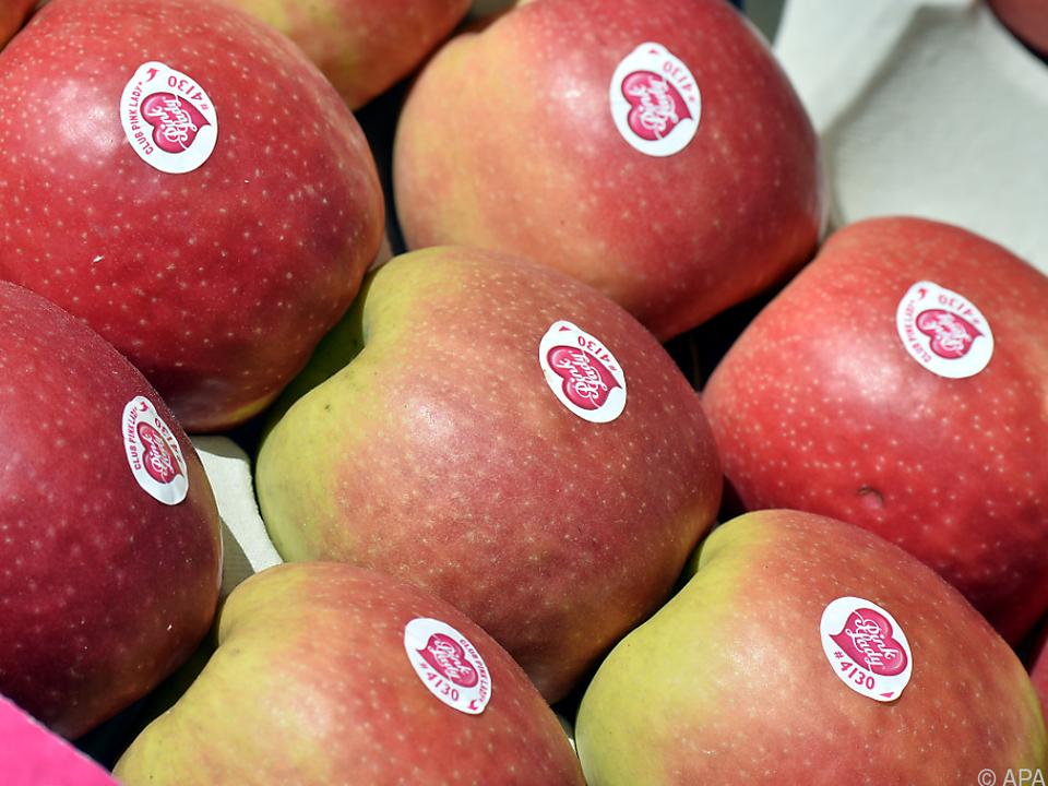 Vermutlicher Steuerbetrug mit Äpfeln