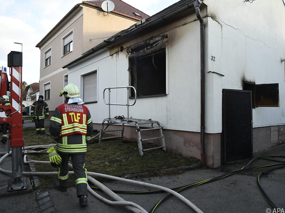 Vier Feuerwehren waren bei dem Brand im Einsatz