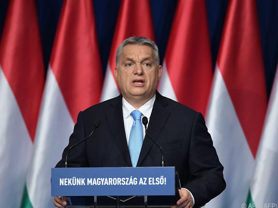 Viktor Orban will sich von EVP nicht bremsen lassen
