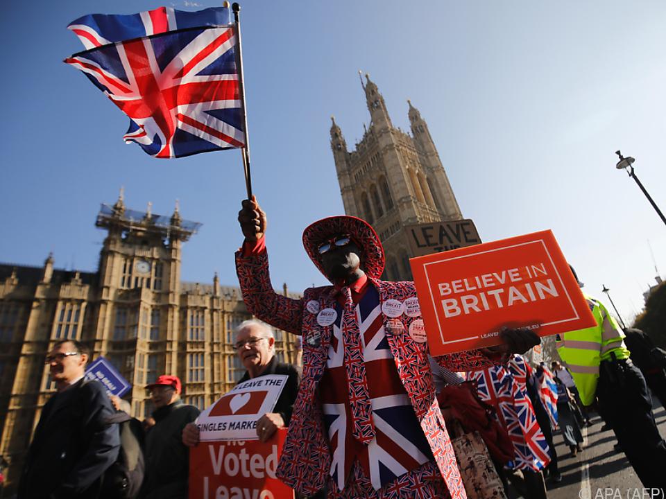 Von Einigkeit im Land selbst ist Großbritannien weit entfernt