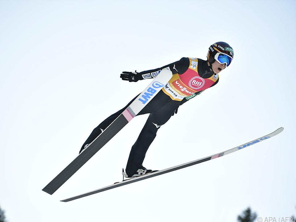 Weltcupsieger Ryoyu Kobayashi gilt als Topfavorit