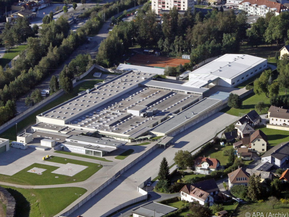 Werksgelände der Firma Glock in Ferlach
