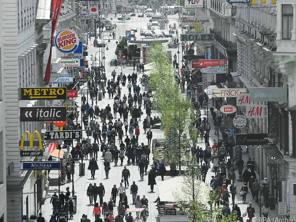 Wien bietet ein abwechslungsreiches Angebot