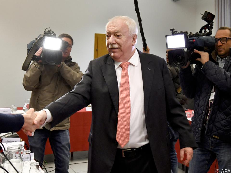 Wiener Altbürgermeister Häupl (SPÖ) musste vor den U-Ausschuss