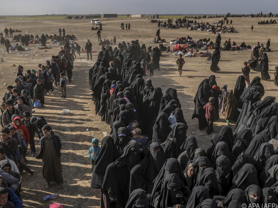 Zivilisten haben die Region verlassen