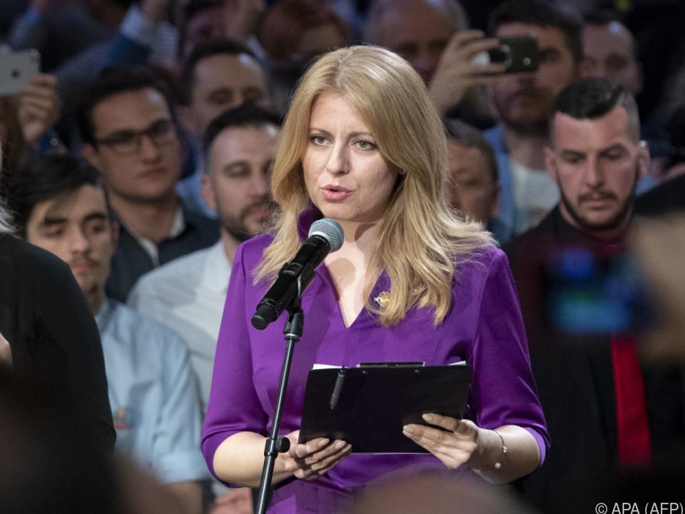 Zuzana Caputova wird slowakische Präsidentin