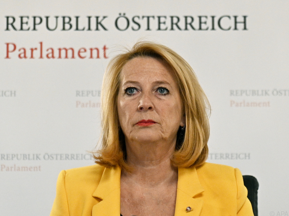 Zweite Nationalratspräsidentin Doris Bures