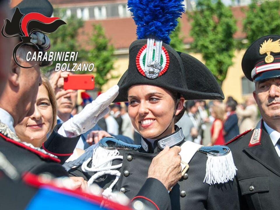 0. cerimonia di consegna degli alamari agli allievi Carabinieri