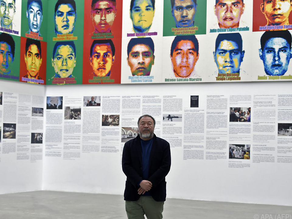 Ai Weiwei erinnert an vermutlich ermordete Demonstranten