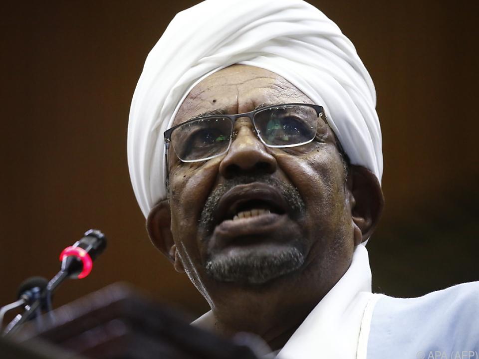 Al-Bashir regierte den Sudan seit 30 Jahren