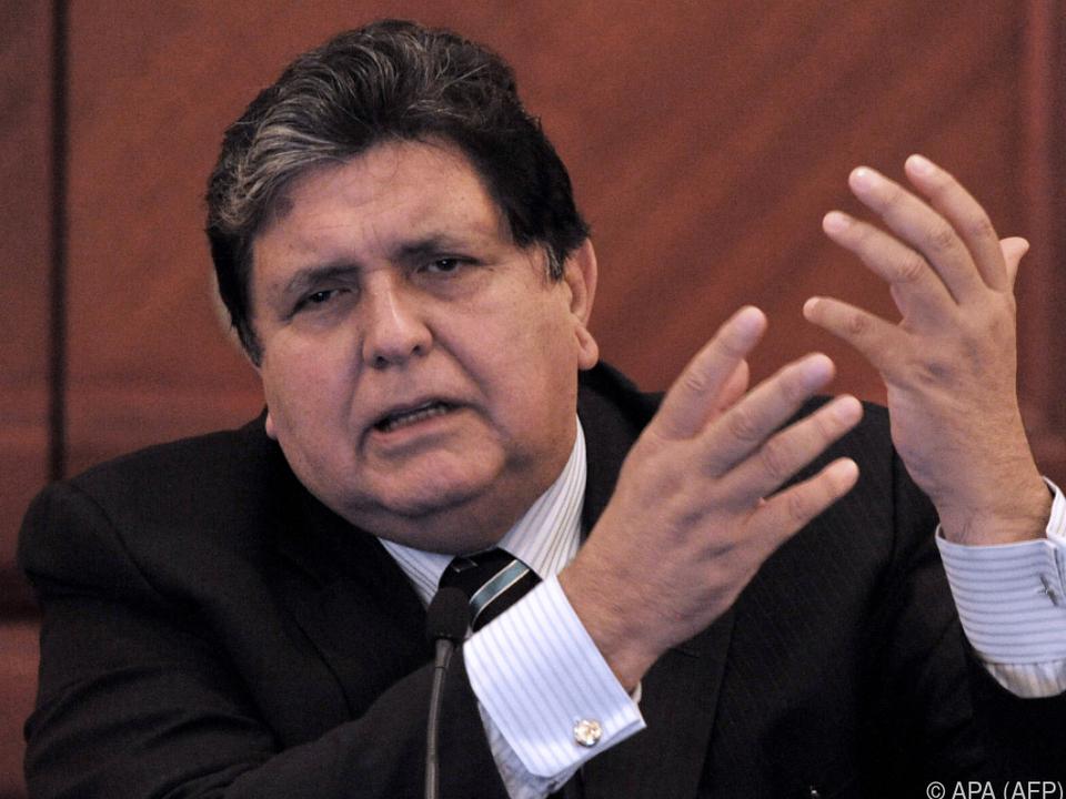 Alan Garcia steht unter Korruptionsverdacht