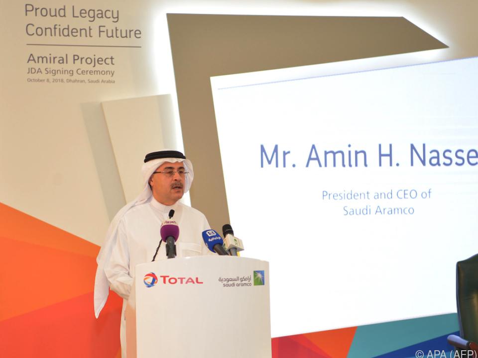 Aramco-CEO Armin Nasser wird erfreut sein