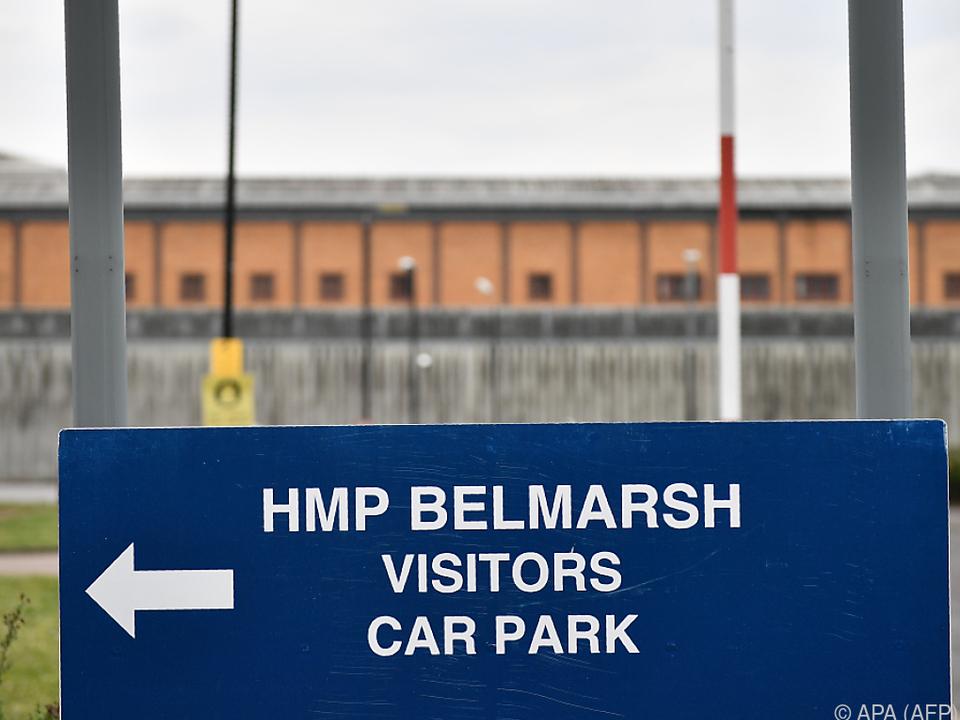 Assange befindet sich angeblich im Belmarsh-Gefängnis
