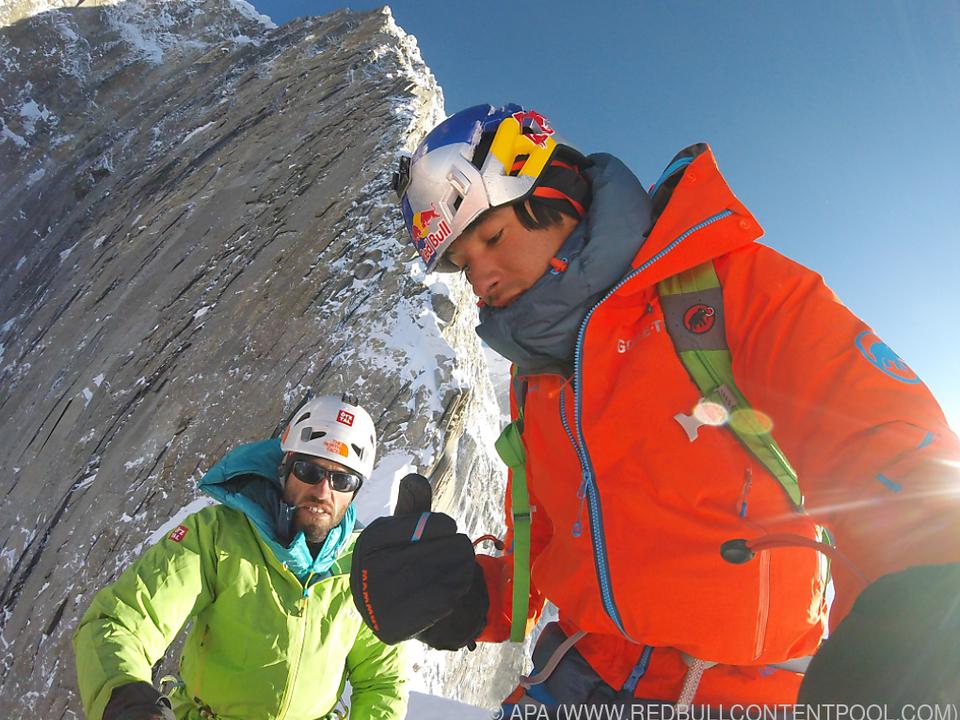 Auer und Lama waren gemeinsam auf mehreren Expeditionen