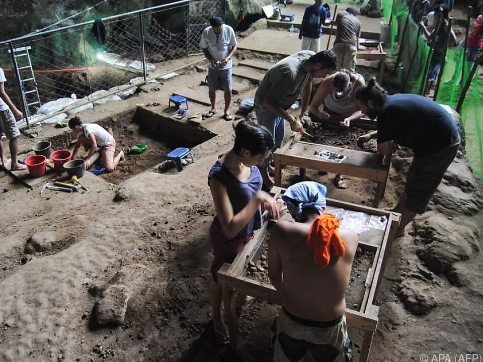 Ausgrabungen auf den Philippinen