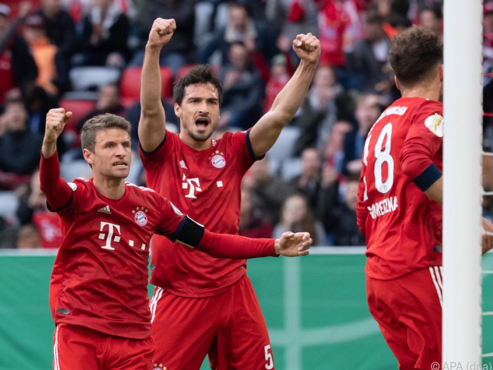 Bayern setzte sich mit 5:4 durch