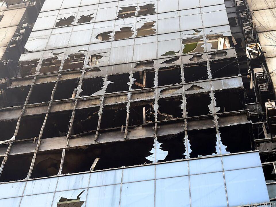 Bei dem Brand in Bangladesch starben Ende März 25 Menschen