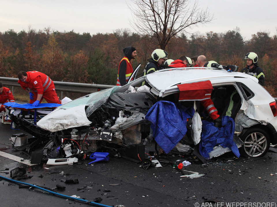 Bei dem Unfall starben 2017 zwei Personen
