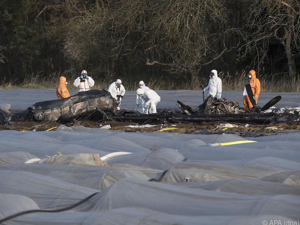 Bei dem Unglück kamen drei Russen ums Leben