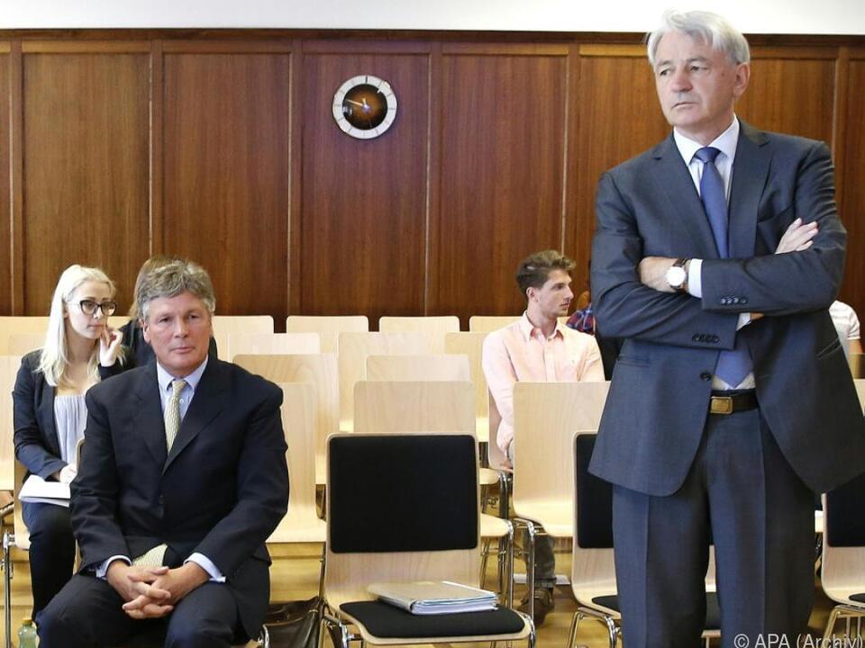 Berlin und Kulterer in Hypo-Prozess