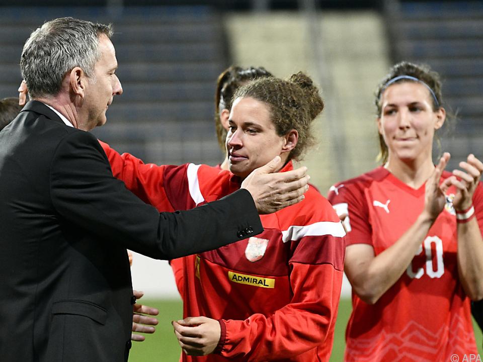 Burger absolvierte ihr finales Spiel im ÖFB-Dress