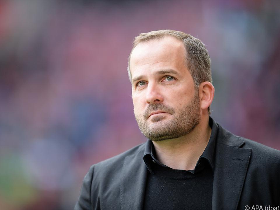 Chefcoach Manuel Baum muss gehen